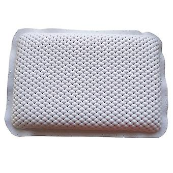 Luxury Bath Spa Pillow Cushioned Spongy Relaxing Bathtub Cushion (white)