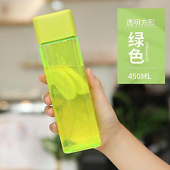 Cute New Square Tea Milk Fruit Cup Bottles For Water