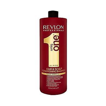 Shampoo ja hoitoaine Revlon Uniq One (1 l)