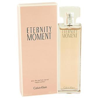 הרגע הנצחי או הרסס תרסיס על ידי קלווין קליין 3.4 עוז או דה Parfum ספריי