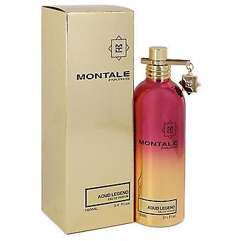 Montale Aoud Legend Eau De Parfum Spray (Unisex) By Montale 3.4 oz Eau De Parfum Spray