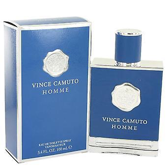 Vince Camuto Homme Eau De Toilette Spray By Vince Camuto 3.4 oz Eau De Toilette Spray