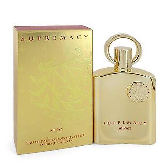 Supremacy Gold Eau de parfum spray (unisex) door Afnan 3,4 oz Eau de parfum spray