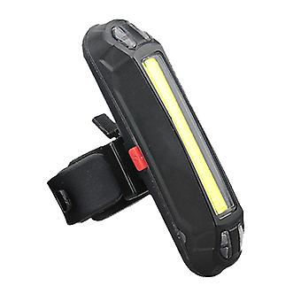 Bicycle indicator light with USB charging function, 3 colors of bicycle tail light can be switched.