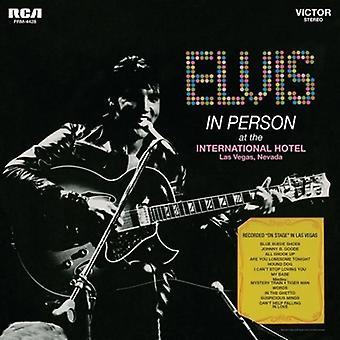 Elvis Presley - In Person at the International Hotel Las Vegas [Vinyl] USA import