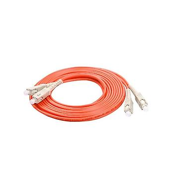 Upc Duplex 2.0mm Mm Om1 Jumper Fiber Optic Patch Cable Cord