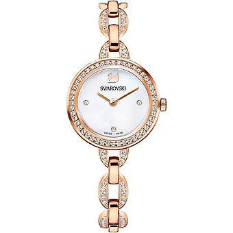Oglądaj Swarovski 5253329 - Obejrzyj kobieta kryształy złota bransoleta