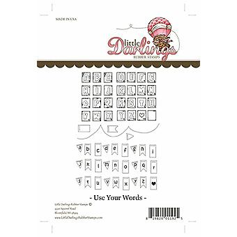 Little Darlings Stamp - Use Your Words