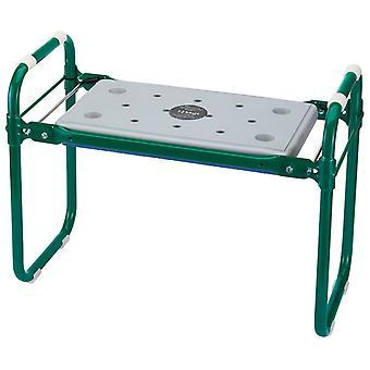 Draper Tools Folding Garden Seat/kneeler Iron Green 64970