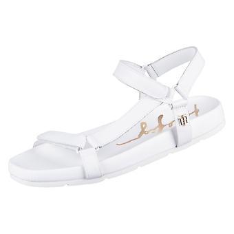 Tommy Hilfiger Interlock Flat Sandal FW0FW05623YBL universal summer women shoes