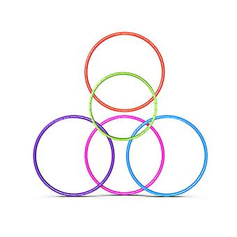 7 Knots Collapsible Hula Hoop 65cm Fitness Exercise Gym Workout Hoola for Children