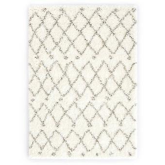 vidaXL tapis Berbert Hochflor PP beige et sable 160 × 230 cm