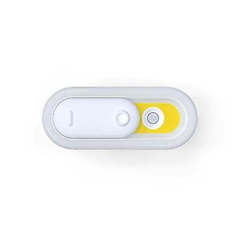 LED-lampe Indendørs lyssensor Natlys (gul)