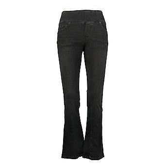 DG2 by Diane Gilman Women's Pants Stretch Boot-Cut Jegging Black 704056