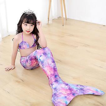Maillot de bain sirène peut tenir flippers cadeau d'anniversaire maillots de bain