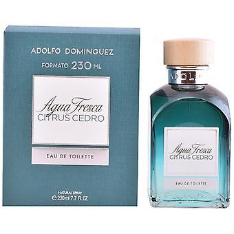 Men's Perfume Agua Fresca Citrus Cedro Adolfo Dominguez EDT