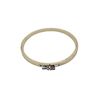 Bamboo Frame Embroidery Hoop Ring - Household Sewing Tool