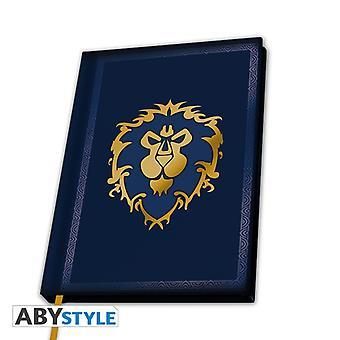 World Of Warcraft Alliance A5 Notebook