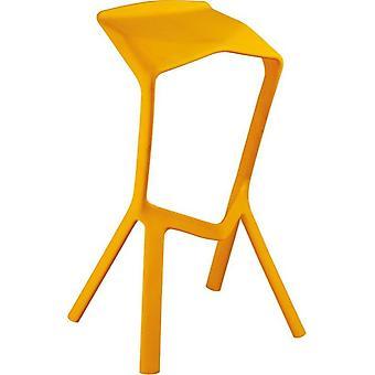 מינימליסטי מודרני עיצוב פלסטיק לערום Miura בר שרפרף כיסא בר פופולרי
