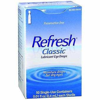 Refresh Refresh Classic Preservative-Free Eye Drops Single-Use Containers, 50 Count