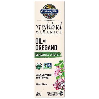 Garden of Life myKind Organics Oil of Oregano Drops, 1 Oz