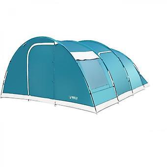 Tente de camping blue family