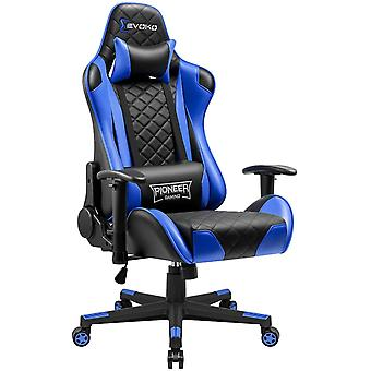Gaming Stuhl Gamer Bürostuhl Ergonomischer Racing Drehstuhl Höhenverstellbarer Schreibtischstuhl mit