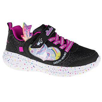 Skechers GO Run Fast Miss Crafty 302205LBLK univerzális egész évben gyerekcipő