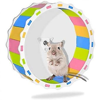 Hamster Wheel Toy Silent Exercise Diameter Cage Attachment Running Wheel(Color)