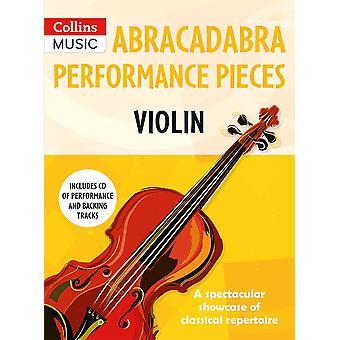 Peças de performance abracadabra - Violino
