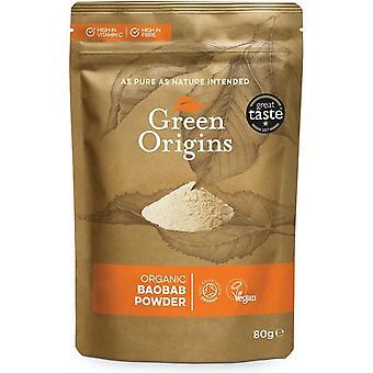 Organic Baobab Powder - 80 grams