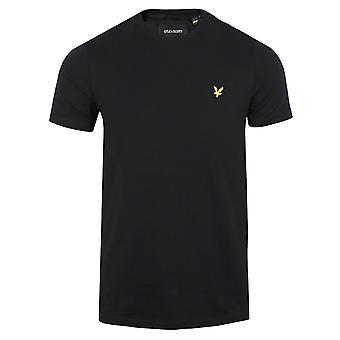 Lyle & scott men's jet black t-shirt