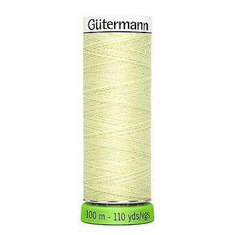 Gutermann 100% genanvendt polyester sy-alle tråd 100m hånd og maskine - 292