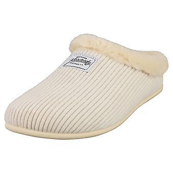 Mercredy Slipper Beige Womens Slippers Shoes in Beige