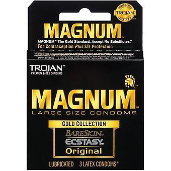 MAGNUM Gold Collection Condoms, 3ct