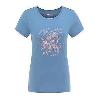 Mustang Skor Alexia C Print 10107815168 universell hela året kvinnor t-shirt