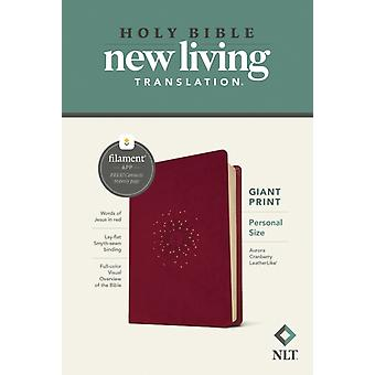 NLT Personal Size Giant Print Bible Filament Edition by Edited by Tyndale