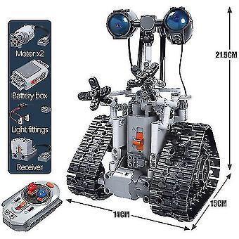 Robotic toys zkzc 408pcs city creative rc robot electric building blocks technical remote control intelligent
