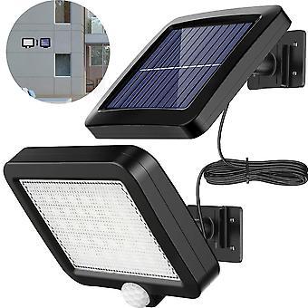 Zonnesensor beveiligingslamp, heldere waterdichte buitenwandlamp
