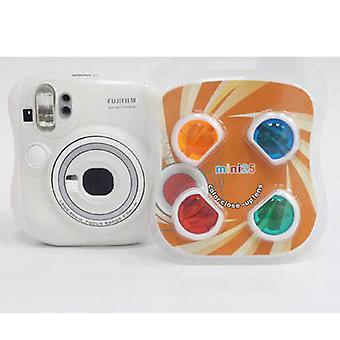 Conjunto de filtro de close-up de cores compatível com Fujifilm Instax Mini 25 / 26+