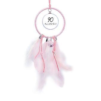 90 år gammel jente alder lang levetid drøm catcher liten klokke soverom dekor