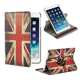 360 stopni pokrywê Design Case dla Apple iPad Mini 1 2 3 - flagę Union Jack UK