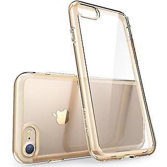 iPhone 7 tapauksessa naarmuunnu, i-Blason selvää Halo-sarjan Apple iPhone 7 kannen 2016 vapautin-Clear/kullan