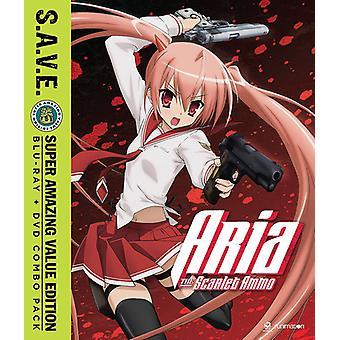 Aria Scarlet Ammo - säsong ett - S.a.V.E. [Blu-ray] USA import