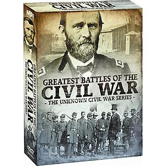 Greatest Battles of the Civil War - The Unknown Civil War Series: Greatest Battles of the Civil War [2 Discs] [DVD] USA import
