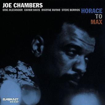 Joe Chambers - Horace d'importation USA Max [CD]