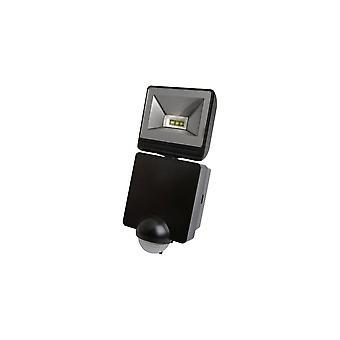 Timeguard potężny 8W LED Energy Saver PIR iluminacja, czarny