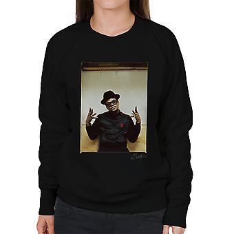 Run DMC Darryl McDaniels Damen Sweatshirt