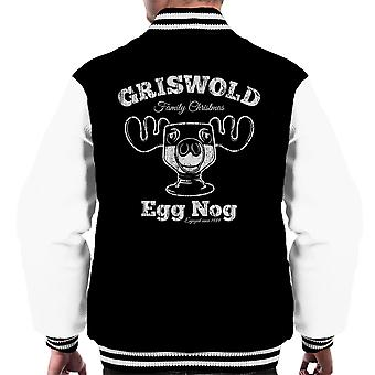 Griswolds Family Christmas Egg Nog Men's Varsity Jacket