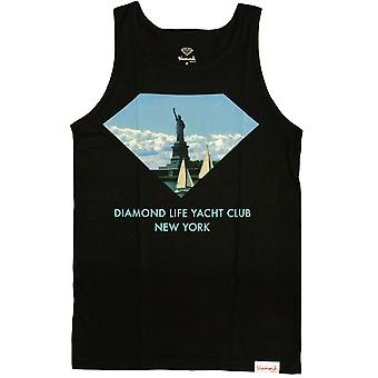 Diamond Supply Co New York Yacht Club Tank Top Black
